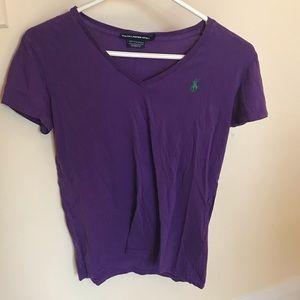Ralph Lauren Sport Purple Shirt Small AA133